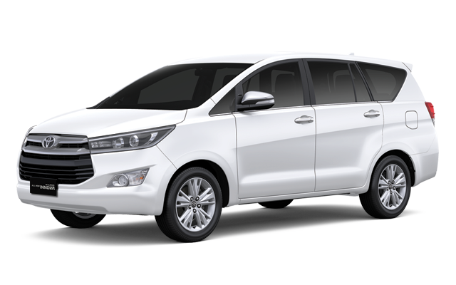 Kijang Innova Super White
