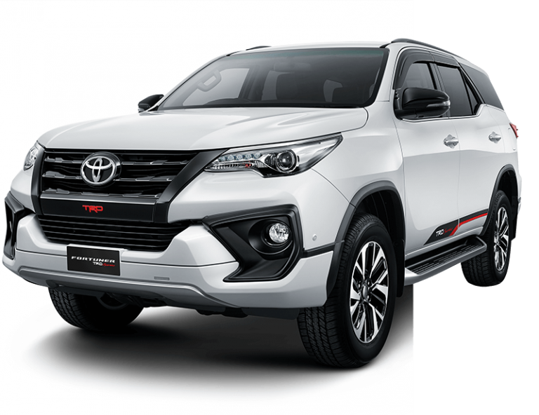 Toyota New Fortuner white