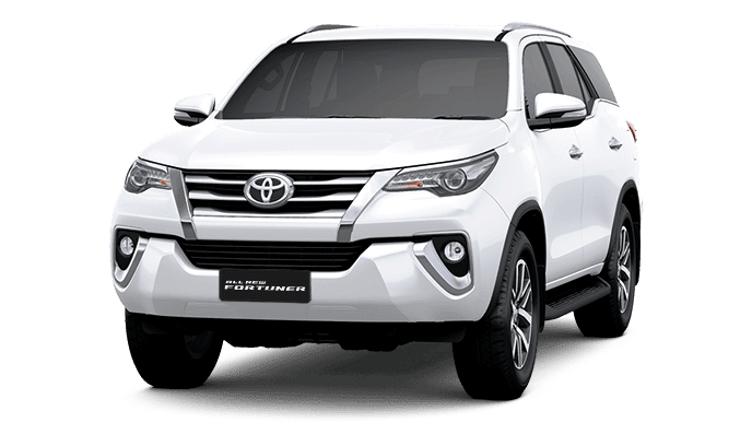 Toyota Fortuner Super White