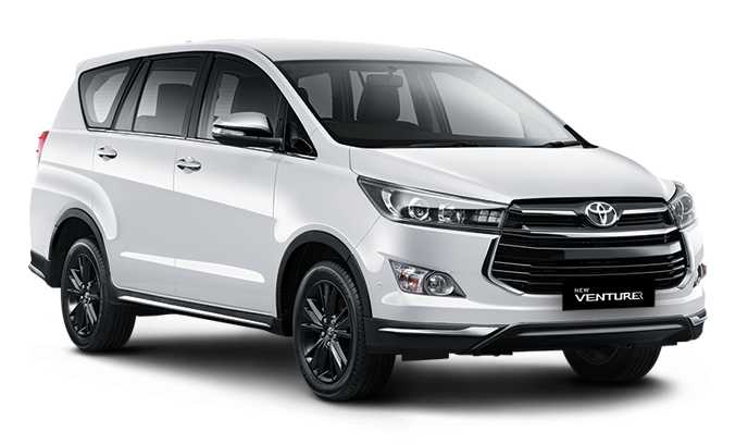 Toyota New Venturer Innova Super White