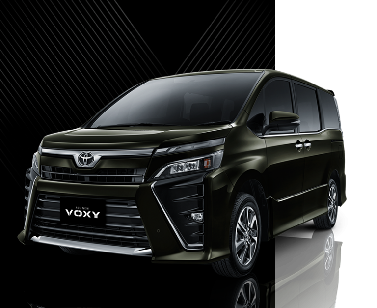 Toyota All New Voxy White Pearl
